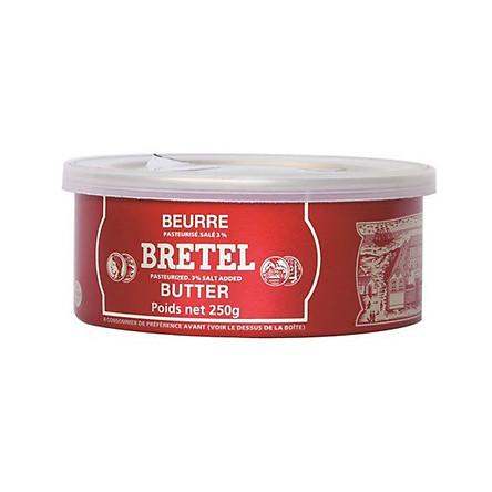Bơ mặn Bretel 250gr