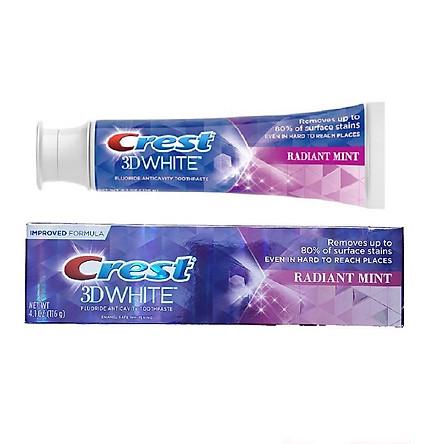 Kem đánh răng Crest 3D White Radiant Mint 116g