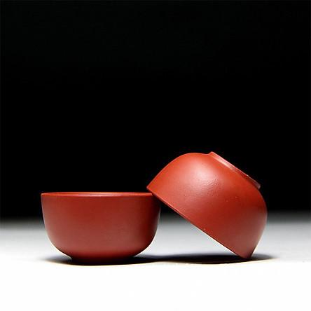 Bộ 6 chén tử sa Nghi Hưng phụ kiện bàn trà trà đạo