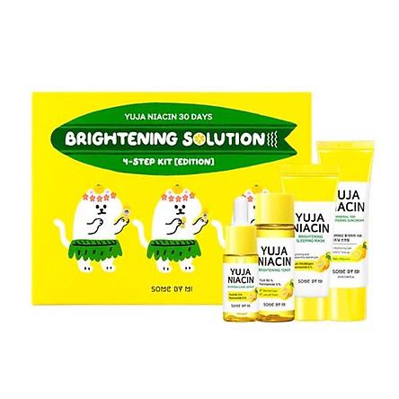 Bộ KIT Dưỡng Trắng Da Some By Mi Yuja Niacin 30Days Brightening Solution 4-Step Kit-Edition