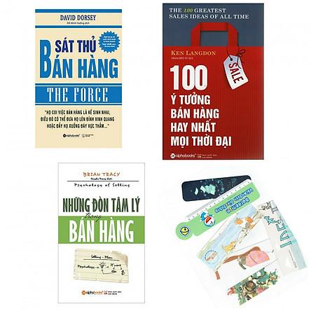Combo sát thủ bán hàng+100 ý tưởng bán hàng hay nhất mọi thời đại+những đòn tâm lý trong bán hàng(bản đặc biệt tặng kèm bookmark AHA)