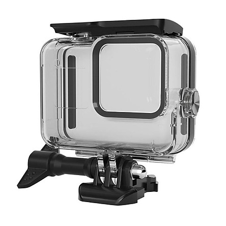 Camera Storage Case for GoPro Hero 8 Black Action Camera 60m Waterproof Case Protective Housing Cover Hard Shell Frame