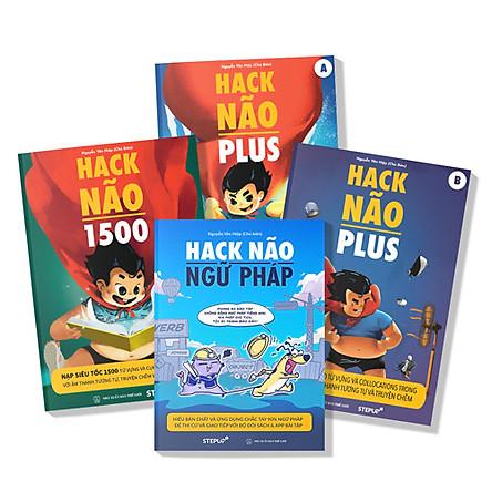 """COMBO """"Hack Não 1500"""" + """"Hack Não Plus"""" + """"Hack Não Ngữ Pháp"""""""