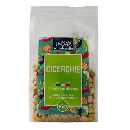 Đậu Cicerchie ( Grass Pea ) hữu cơ Sottolestelle 400g