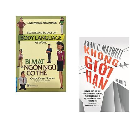 Combo 2 cuốn sách: Bí Mật Ngôn Ngữ Cơ Thể + Không giới hạn