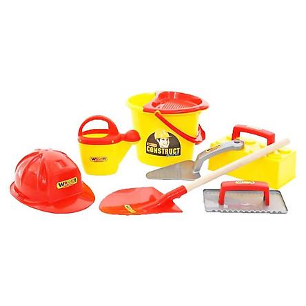 Bộ đồ chơi dụng cụ xây dựng Số 7 - Wader Toys