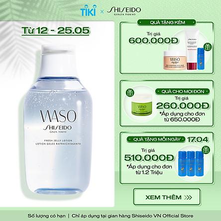 Nước Dưỡng Da Shiseido Waso Fresh Jelly Lotion (150ml) - 13966