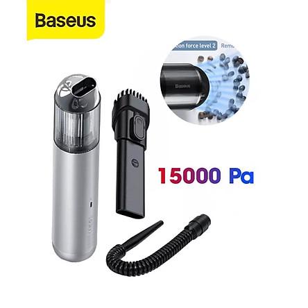 (Hàng chính hãng) Máy Hút Bụi Không Dây BASEUS A3 Vacuum15000Pa sử dụng trong nhà ở, xe hơi,… siêu tiện lợi