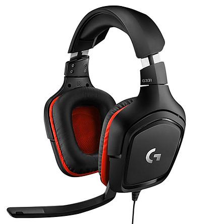 Tai Nghe Có Dây Chụp Tai Over-ear Logitech G331 Wired Gaming - Hàng Chính Hãng