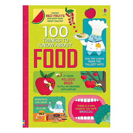 Usborne 100 Things to Know About Food