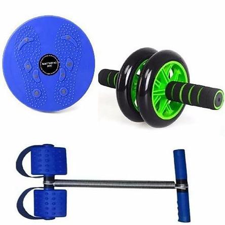 Combo 3 dụng cụ tập thể dục toàn thân