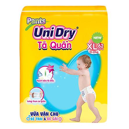 Combo 3 Tã Quần Unidry Ultra Jumbo XL62 (62 Miếng)