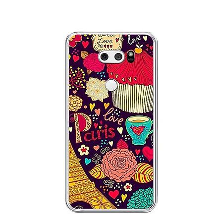 Ốp lưng dẻo cho điện thoại LG V30 - 0196 PARIS4 - Hàng Chính Hãng