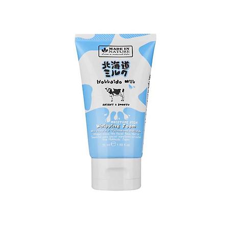 Sữa Rửa Mặt Dưỡng Ẩm Và Mịn Da Made In Nature Hokkaido 50ml