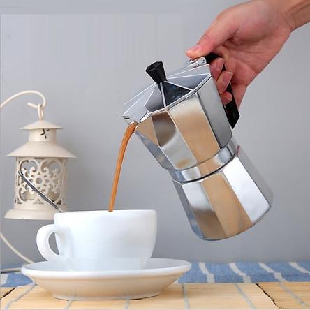 Ấm Pha Cà Phê Moka Express 6 cup 300ml phong cách Ý | Tiki.vn