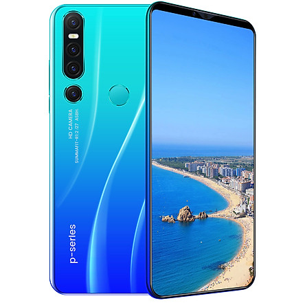 P46Pro Cellphone 6.1inch HD Screen 8G RAM+128G ROM Memory 13MP+18MP Camera 4000mAh Battery for Android 9.1 OS
