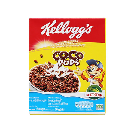 """[Chỉ Giao HCM] - Thức ăn ngũ cốc Kellogg""""s Coco Pops - hộp 30gr"""
