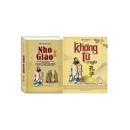 Combo Khổng Tử Truyện (Trọn Bộ 2 Tập) + Nho Giáo (Bìa Cứng)