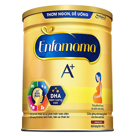 Sữa Bầu Enfamama A+ (400g) - Hương Choco