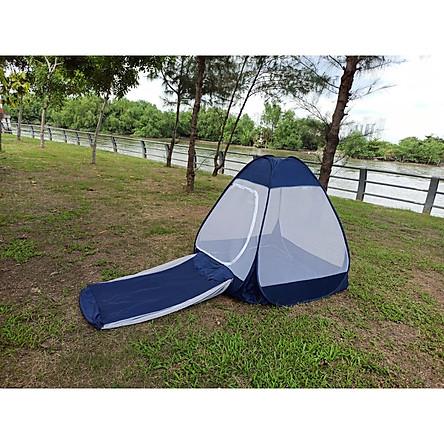 Mùng Thiền Tự Bung  1 mét 2 x 1 mét 2 [ Có Túi Ngủ ] Dành cho 1 người