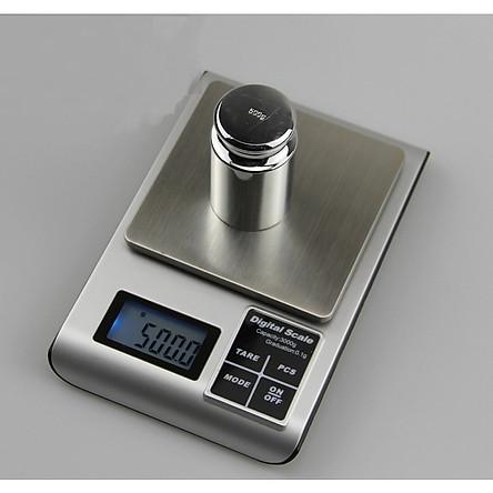 Cân điện tử 3kg - 0.1g 8900590 (Tặng 03 nút giữ dây điện)