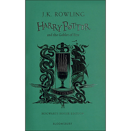 Harry Potter and the Goblet of Fire - Slytherin Edition (Book 4 of 7: Harry Potter Series) (Hardback)