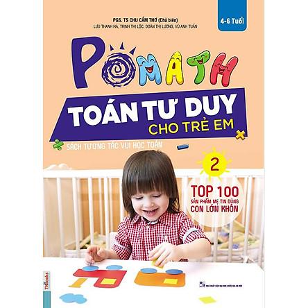 POMath-Toán tư duy cho trẻ em tập 2-Sách học toán tư duy toán- Toán tư duy cho trẻ em từ 4 – 6 tuổi-Mcbooks