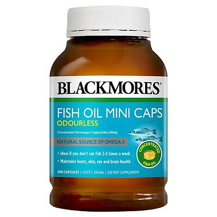 Blackmores Odourless Fish Oil 400 Mini Capsules