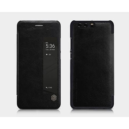 Bao da cho Huawei P10+ Plus cao cấp chính hãng Nillkin QIN Series