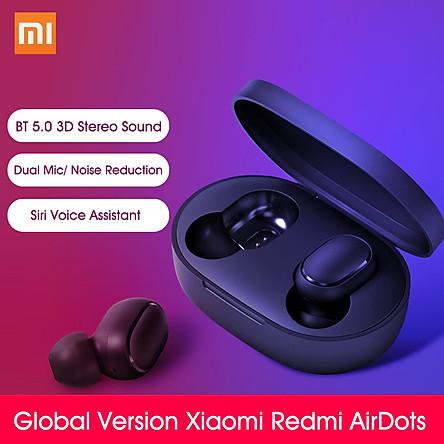 Global Version Xiaomi Redmi AirDots Wireless Earphones Mi True Wireless Earbuds Basic Mini Dual BTV5.0 Earphones 3D