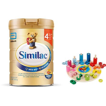 Sữa Bột Similac 4 (900g) - Tặng Đồng Hồ Gỗ