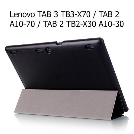 Bao Da Cover Dành Cho Máy Tính Bảng Lenovo TAB 3 TB3-X70 / TAB 2 A10-70 / TAB 2 TB2-X30 A10-30
