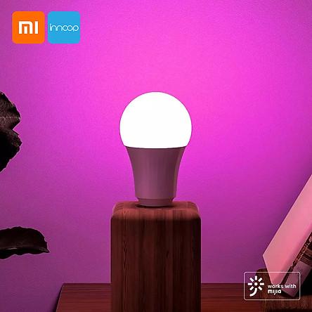 Xiaomi Youpin Inncap Smart LED Light Bulb Colorful E27 Bulb Base Dimmable Lamp 800 Lumens Timer Night Light Intelligent