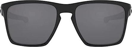 Oakley Men's OO9341 Sliver XL Rectangular Sunglasses, Matte Black/24K Iridium, 57 mm