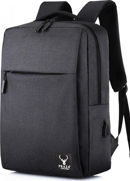 Ba Lô Laptop Có Cổng Sạc USB Cao Cấp PRAZA - BLTK174
