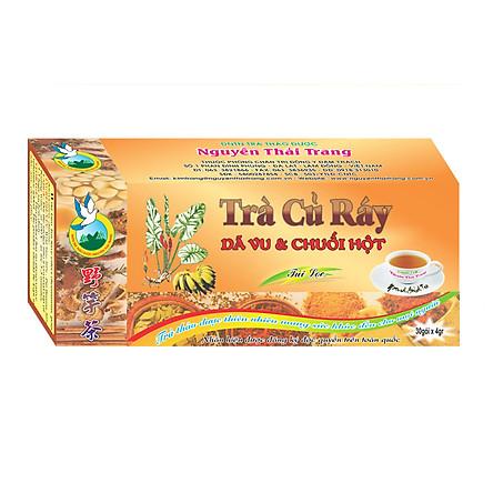 Trà Củ Ráy Trị Gout (Hộp 50 Túi Lọc X 2g)- Nguyên Thái Trang – Thảo Dược Thiên Nhiên – Tốt Cho Sức Khỏe