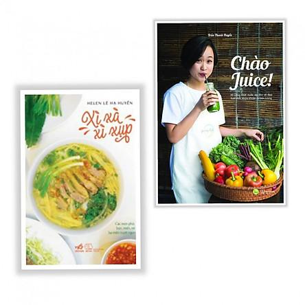 Combo Sách Nấu Ăn - Chào Juice + Xì Xà Xì Xụp - (Tặng Kèm Bookmark)