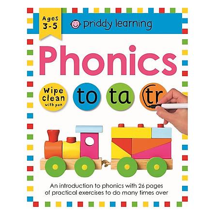 Wipe Clean Workbook Phonics