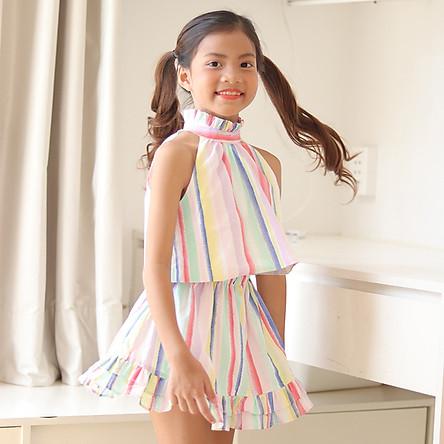 Đầm bé gái kẹo mút Kika K087
