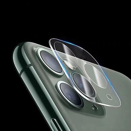 Miếng Dán Kính Cường Lực Camera chống trầy cho iPhone 11 / 11 Pro / 11 Pro Max Leeu Design_ Hàng Nhập Khẩu