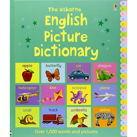 Usborne English Picture Dictionary (Over 1000 Words and Pictures)