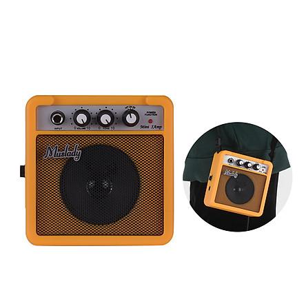 Loa Khuếch Đại Âm Thanh Guitar Mini Muslady Đầu Vào 3,5mm & 6,35mm Đầu Ra 1/4 Inch (5W)