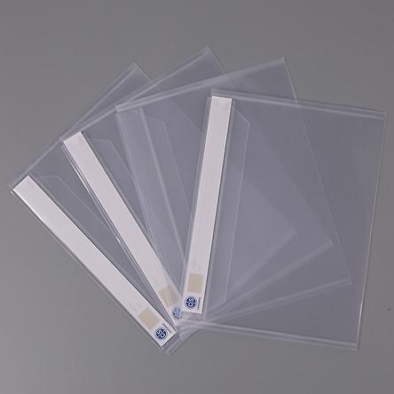 Xấp 4 Bìa Bao Thư A4 Nhựa Trắng