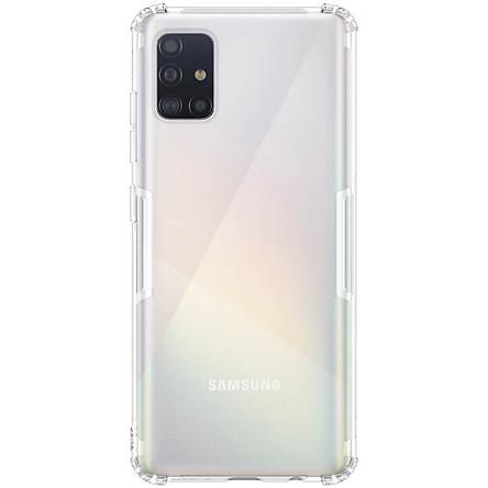 Ốp lưng cho Samsung Galaxy A71 silicon Nillkin chống sốc - Hàng nhập khẩu