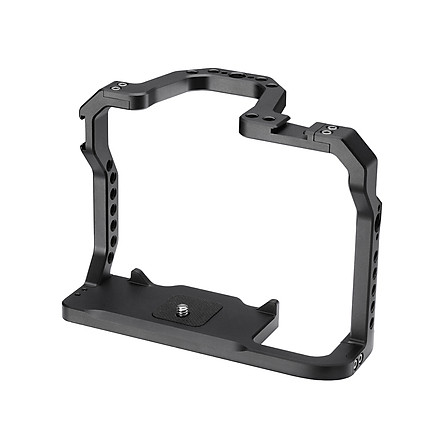 UURig Aluminum Alloy Camera Cage with Cold Shoe Arri Positioning Hole 1/4 Screw Compatible with Canon EOS 90D 80D 70D