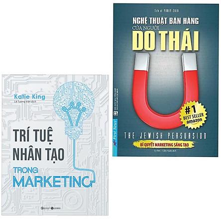 Combo 2 Cuốn Sách Kinh Doanh: Trí Tuệ Nhân Tạo Trong Marketing + Nghệ Thuật Bán Hàng Của Người Do Thái
