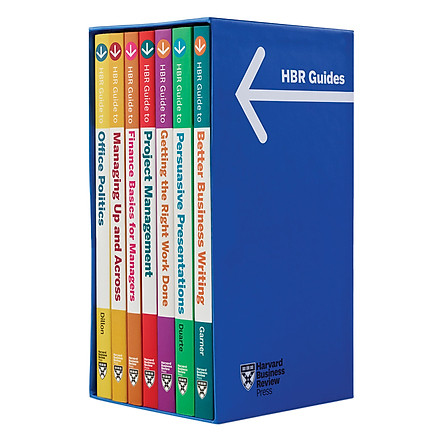 Harvard Business Review Guide Boxed Set (7 Books)