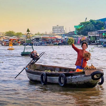 Tour Du lịch Sài Gòn - Mỹ Tho - Bến Tre - Cần Thơ - 2 Ngày 1 Đêm - Khám phá Miệt vườn sông nước