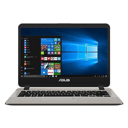Laptop Asus Vivobook X407MA-BV039T Pentium N5000/Win10 (14.0 inch) (Gold) - Hàng Chính Hãng