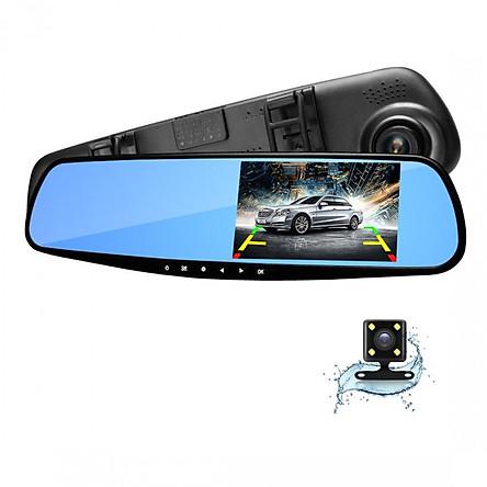Bộ Đôi 2 Camera Gương Hành Trình trước và sau HD 1080 - Blackbox HDR